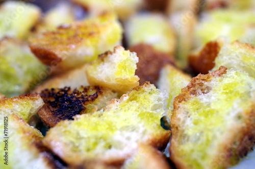 Deurstickers Voorgerecht Stuzzichino aperitivo