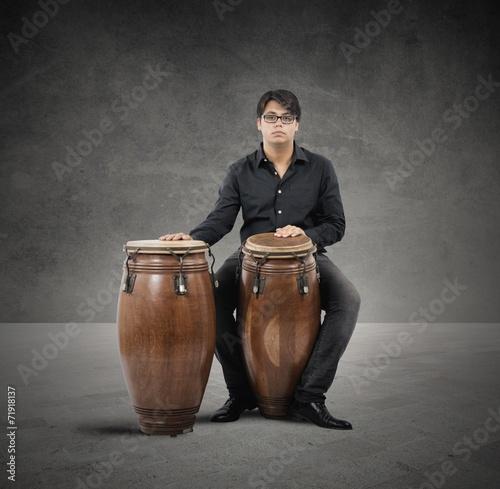 Obraz na plátne Percussionist