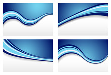Blue Wave Backgrounds