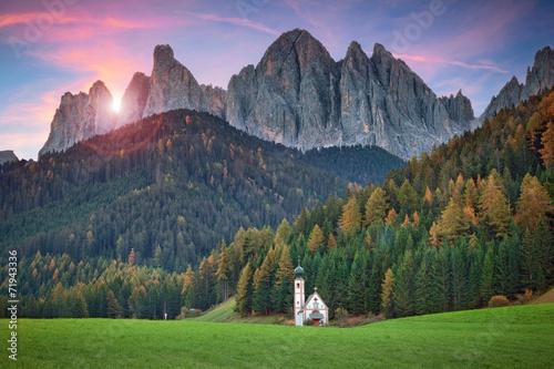 Fotografie, Tablou  Dolomites.