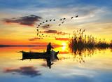 łowienie w jeziorze marzeń - 71956504