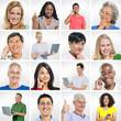 Diverse Multi Ethnic People s Face