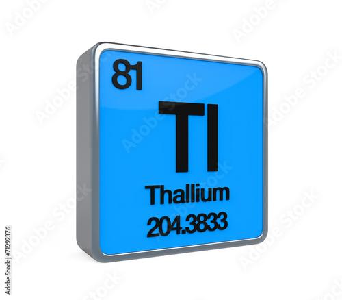 Thallium element periodic table buy this stock illustration and thallium element periodic table urtaz Choice Image