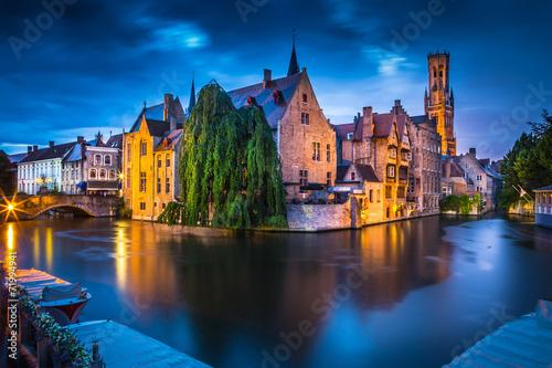 Wall Murals Bridges Bruges