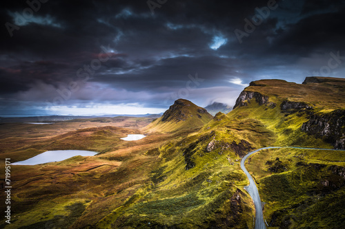 Quiraing Wallpaper Mural