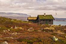 Cabin With Turf Roof Near Hard...