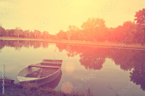 Foto op Plexiglas Herfst Idyllic autumn scene