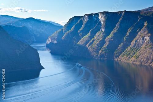 Fotografie, Obraz  Norsko - Fjord region