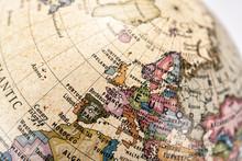 地球儀 ヨーロッパ