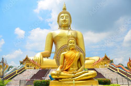 Photo buddha monk