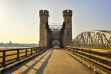 Fototapeta Most - Most kratowy, zabytkowy most drogowy, Tczew, Polska