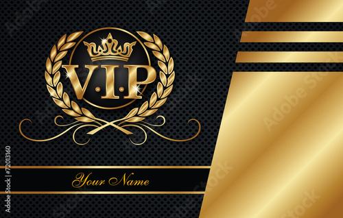 Fotografie, Obraz  VIP card template