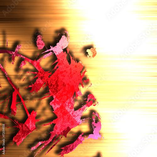 Fototapeta Abstract splash texture obraz na płótnie