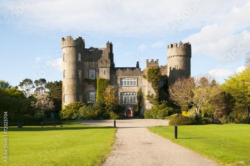 Stampa su Tela  Malahide Castle Dublin Ireland