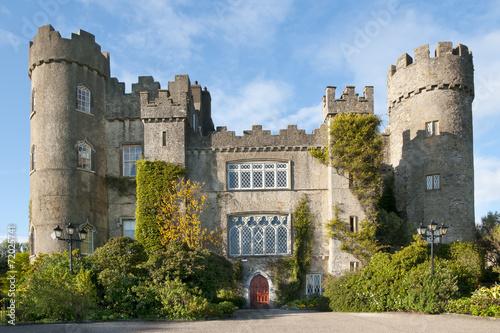 fototapeta na drzwi i meble Malahide Castle, Dublin, Irlandia