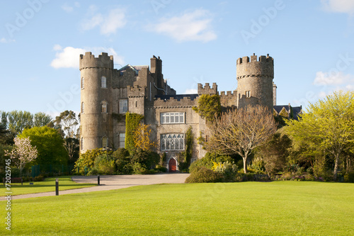 Canvas Print Malahide Castle Dublin Ireland