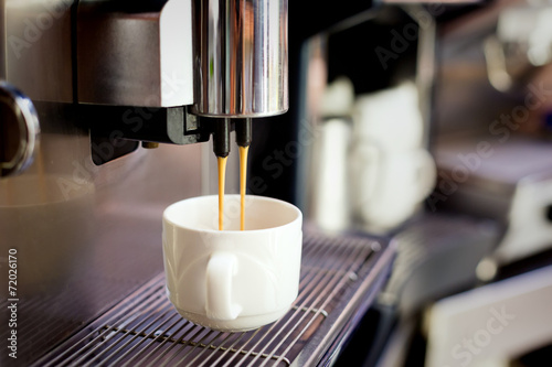 Fotografie, Obraz  Coffee preparation