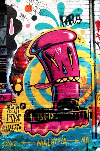 plakat Ulica LA, Melbourne