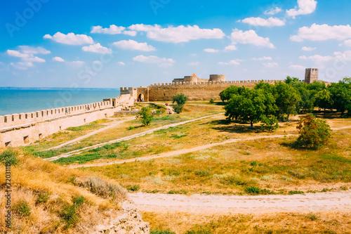 Ukraine, Odessa region. Belgorod-Dniester fortress. Akkerman for Canvas Print