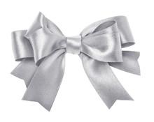 Silver Gray Ribbon