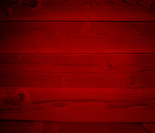 Red Old Vintage Wood Background