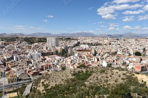 Poster Ruine Alicante - the city in the Valensiysky Autonomous Region