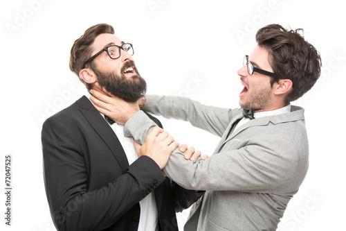 2 Männer im Anzug Canvas-taulu