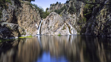 Landscape Of Lake. Madrid. Spain