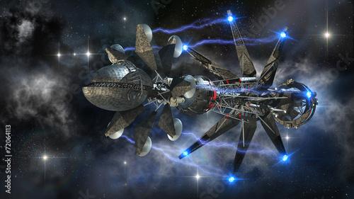 statek-wojskowy-ladujacy-naped-nadprzestrzenny