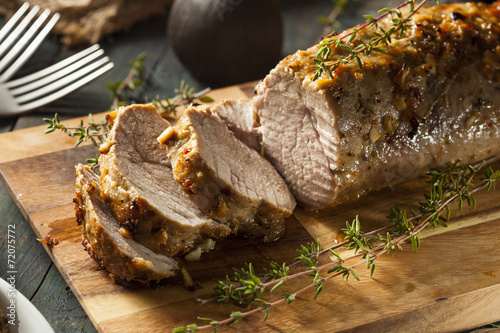 Photo  Homemade Hot Pork Tenderloin