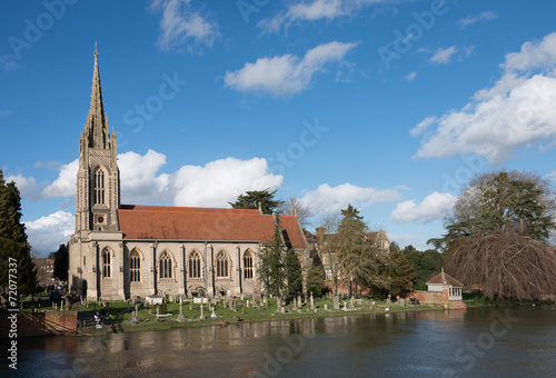 Marlow Church UK Canvas Print