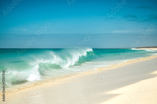 Canvas Cape Verde Beach