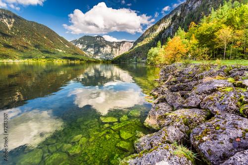 jezioro-w-alpach