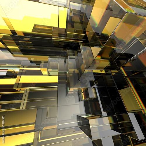 3d-abstrakcjonistyczny-miastowy-szklany-geometryczny-tlo