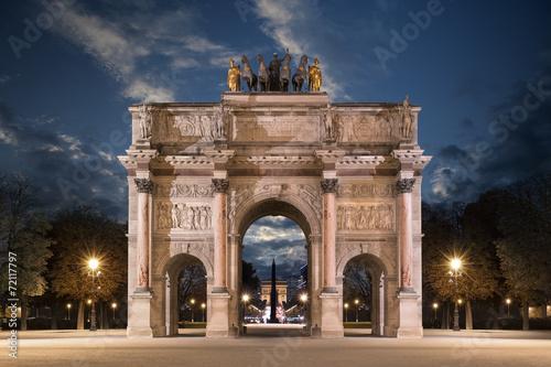Fotografie, Obraz Le Carrousel du Louvre
