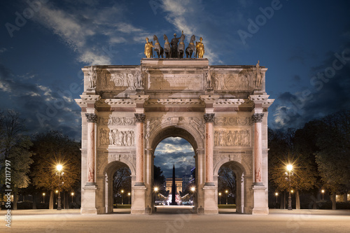 Fototapeta Le Carrousel du Louvre