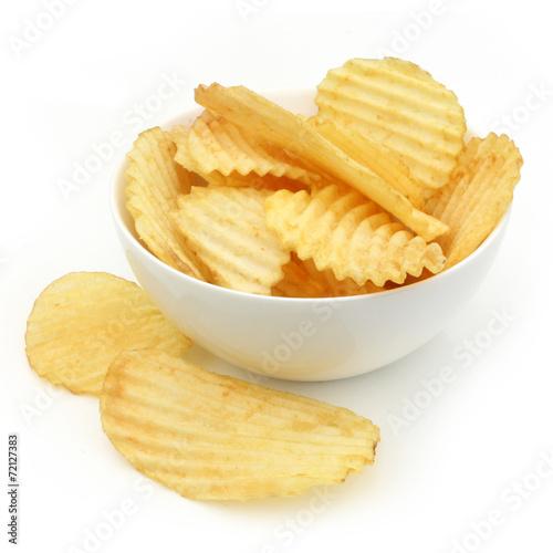 Fotografía  Chips de pomme de terre - Potatoe chips