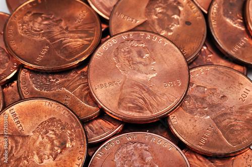 Fotografía cent coins