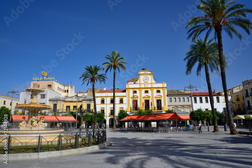 Photo  Spain Square in Merida.