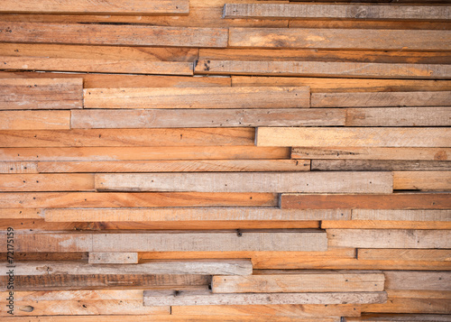 Poster Wall timber wood brown wall texture background