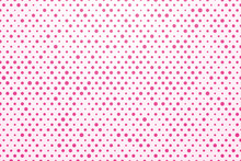 White Background With Pink Polka Dots