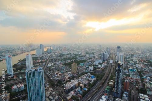 Foto op Aluminium Kuala Lumpur View of Bangkok