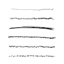 Handdrawn Brushes Set