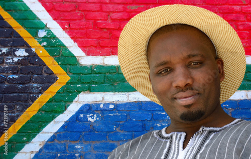 South African black man