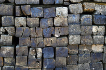 Wooden Logs Sleepers