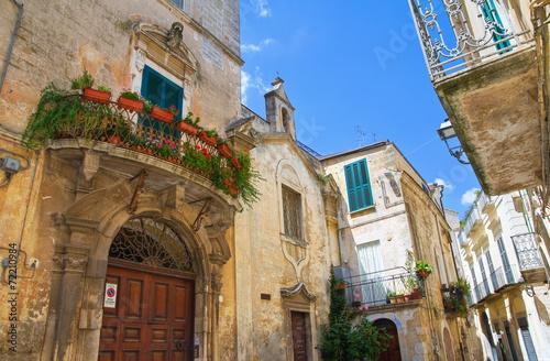 Photo Alleyway. Altamura. Puglia. Italy.