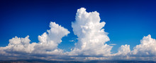 Double Cumulonimbus Cloud In A...