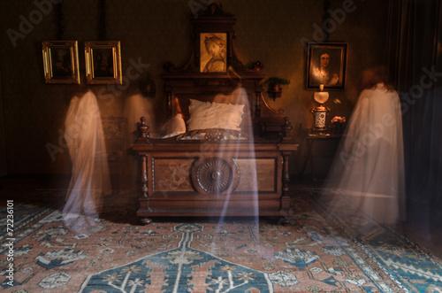 Halloween Ghost scary spooky girl Wallpaper Mural