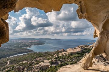 Fototapeta samoprzylepna Sardynia, panorama
