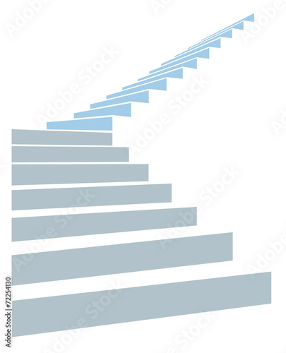 Slika na platnu stair in sky